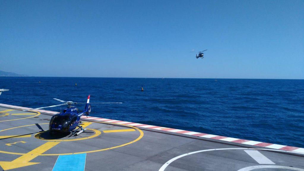 Depuis 2018, ASD intervient sur la sécurisation de l'espace aérien base altitude de Monaco