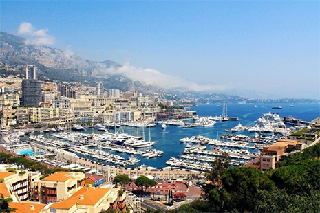 ASD gère l'espace basse altitude de Monaco
