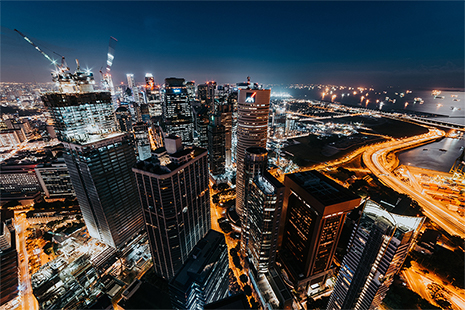ASD collabore avec Airbus pour gérer l'espace aérien de Singapour.